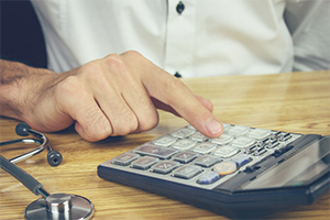 medical-costs-being-calculated